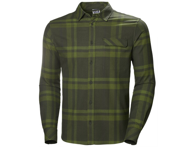Helly Hansen Classic Check T-shirt à manches longues Homme, forest night plaid